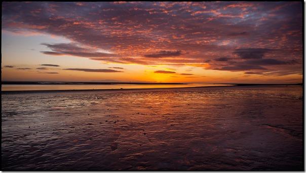 08 timelapse Lytham St Annes Lancshire pier wood wooden setting sun sea reflection lee ramsden photography photographer